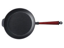 Pre-seasoned Cast Iron Round Grill Pan With Long Handle