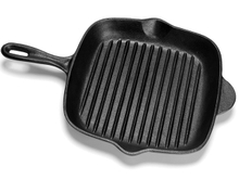 Pre-seasoned Cast Iron Steak Grill Pan