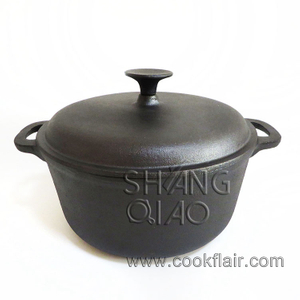 Seasoned Cast Iron Casserole