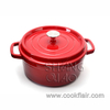 Cast Iron Casserole Pot
