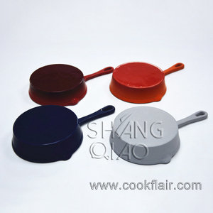 Mini Enamel Cast Iron Fry Pan