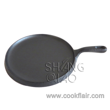 10 Inch Pre-seasoned Cast Iron Round Fry Pan
