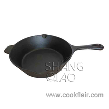 10.5inch Pre-seasoned Cast Iron Fry Pan