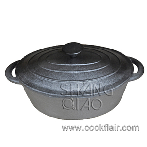 Oval Cast Iron Casserole