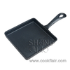 5.5 Inch Mini Square Cast Iron Skillet Pan